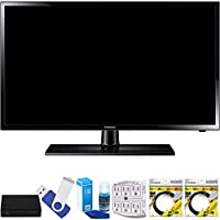 Samsung UN19F4000 19 720p LED HDTV Clear Motion Rate 120 Plus Terk Cut-the-Cord HD Digital TV Tuner and Recorder 16GB Hook-Up Bundle