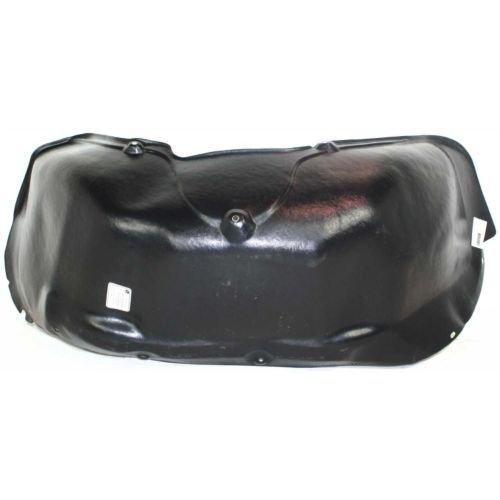 Std Shield (MAPM Premium DODGE FULL SIZE P/U 94-02 FRONT SPLASH SHIELD LH, Plastic, 2WD, w/Std Duty Suspension, Old Body Style)