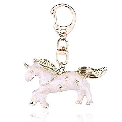 LGUHGR Llavero Llavero Animal Llavero del Unicornio del ...