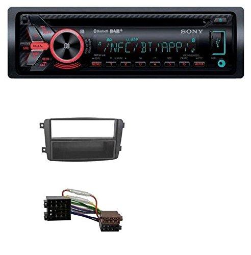caraudio24 Sony MEX-N6002BD Bluetooth MP3 CD DAB USB Autoradio fü r Mercedes C-Klasse W203 CLK W209 Vito Viano