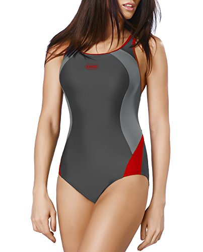 GWINNER Women's Alinka One Piece Athletic Swimsuit - M - - 2017 Athletic Swimsuits