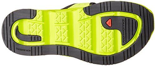 Salomon L38160800, Zapatillas de Trail Running para Hombre Verde (Granny Green /         Gecko Green /         Black)