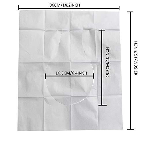 50 CountsDisposable Toilet Seat CoverFlushableBiodegradablePaper