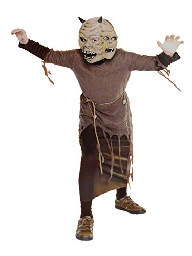 Boys Two Headed Monster Halloween Costume Small 4-6 ()