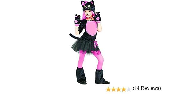 Forever Young - Disfraz de gatito para niñas: Amazon.es: Ropa y ...