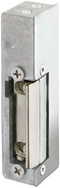 Avec syst/ème de d/éblocage pour portes /à courant alternatif. Sym/étrique Serrure /Électrique V CA ZKTeco 4502 -G/âche /électrique ajustable R/éversible