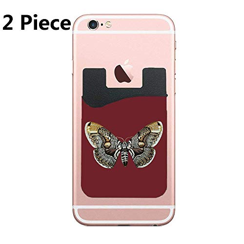 Boneless Wings are just Fancy Chicken Nuggets for Adults Phone Card Holder, ID Credit Card Wallet Phone Case Pouch Sleeve Pocket Compatible with Most of Smartphones(iPhone/Android/Samsung Galaxy) - Fancy Nugget