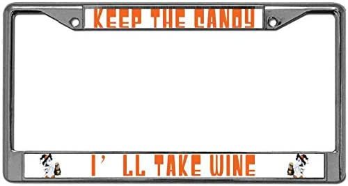 Pirate custom personalized design your own  license plate frame holder tag
