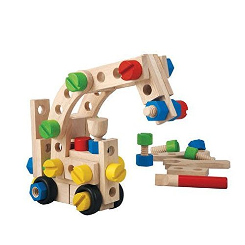 PlanToys 60 Construction Set Plan Toys Creative Blocks