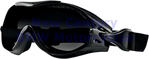 Bobster Eyewear PHOENIX OTG GOGGLE/INTERCHNG Goggles Phoenix BLK AF SMOKE,AMBER & CLEAR LENS - BPX001