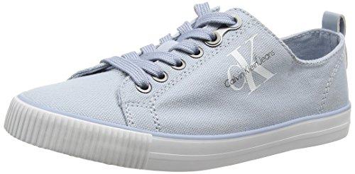 Para Klein Jeans Zapatillas Mujer Dora Calvin chambray Canvas Azul wXaBxqwH