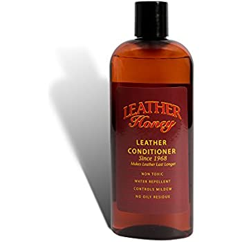Leather Honey Leather Conditioner, Best Since 1968 (Half-Pint, 8 oz)