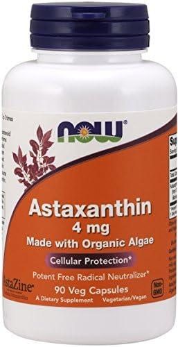 NOW Astaxanthin 90 Veg Capsules product image
