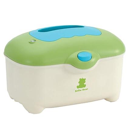 Calentador de toallitas Calentador de temperatura constante 24 h Caja de aislamiento de papel húmedo portátil