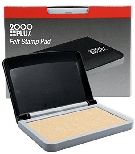 2000 Plus Un-inked (Dry) Micro Cellular Felt Stamp Pad - Stamp Felt Pad Dry