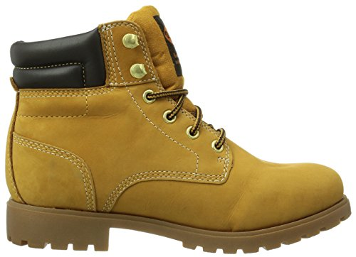 Dockers 350535-003093 - botas desert de cuero mujer amarillo - Gelb (golden tan  093)