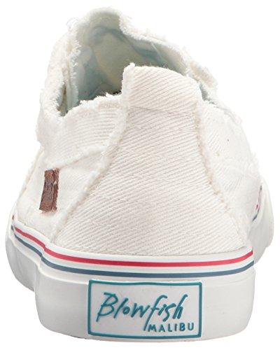 Blowfish Damen Spiel Fashion Sneaker Off White Westside Geräucherter Denim
