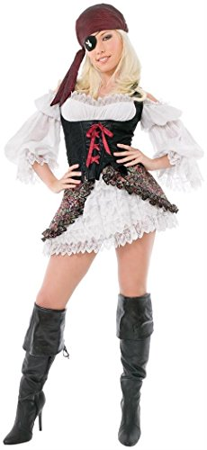 Playboy Buccaneer Beauty Adult Costume - Medium