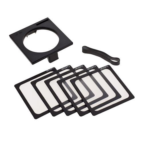 Lee Filters Soft Focus Set 4x4'' with Gelsnap Filter Holder by Lee Filters