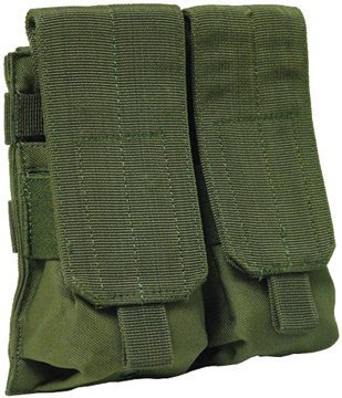 VooDoo Tactical 20-7331004000 M4/M16 Mag Pouch, OD, Double