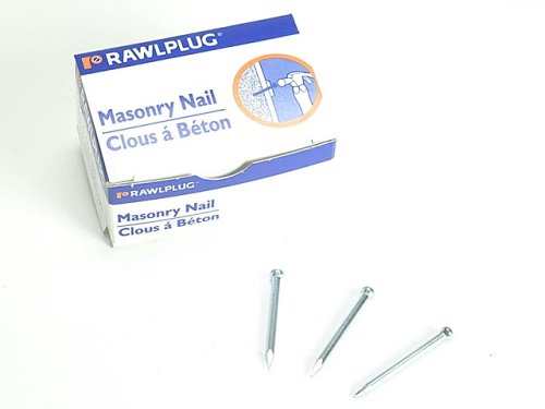 Rawlplug 04 046 Washered Masonry Nails 3.7 X 30Mm Pack 100 by Rawlplug (Image #1)