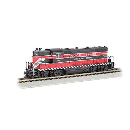 Bachmann Industries EMD GP7 DCC Rock Island #1207 Sound Value Equipped Locomotive (HO ()