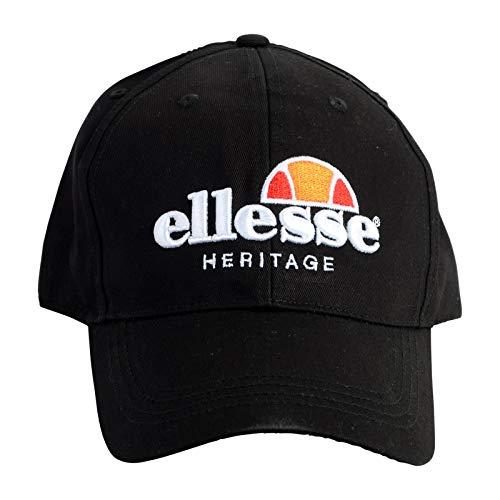 Ellesse - Gorra de béisbol - para Hombre Negro Negro Talla única