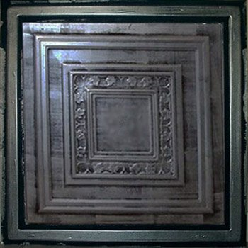 Antyx Antique Silver Black Ceiling