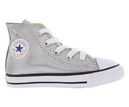 Hi Season Star CONVERSE Black Metallic White Taylor All 015850 21 Sneaker Gunmetal Kinder Chuck Unisex qtItX