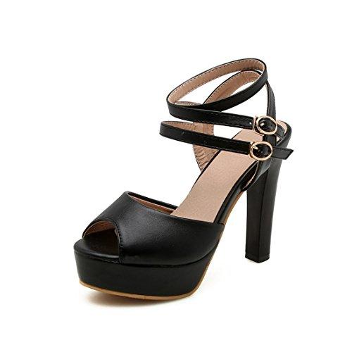 impermeabili e con black i sono semplici trentaquattro sono donne alti sandali sandali le i tacchi violento sandali e XHwOqW