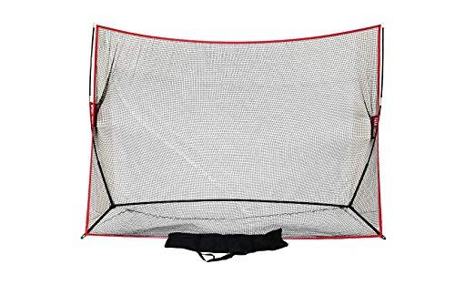 Sport Nets Heavy Duty Golf Hitting Net 10 x 7 Driving Practice Indoor Outdoor Backyard Portable Golfing Net w/ Carry Bag