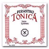 Pirastro Tonica 1/2-3/4 Violin String Set - Medium Gauge with Ball End E