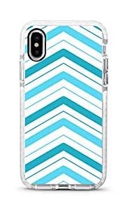 Stylizedd iPhone XS Max Cover Impact Pro White Military Grade Shockproof Case - Only Way Is Up Full