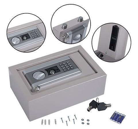 New Gray Drawer Security Hidden Safe Box Portable Jewelry Gun Cash Digital Electronic (Ottoman Helmet)