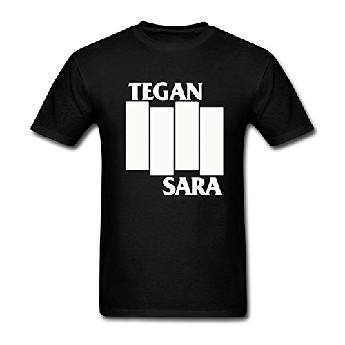 Bayyand Men's Tegan And Sara T-shirt Black (Tegan And Sara Halloween T Shirt)