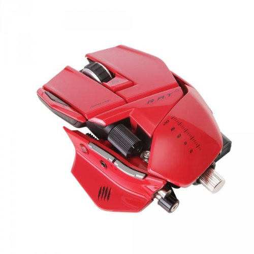 - Mad Catz R.a.t. 9 Wireless Gaming Mouse For Pc And Mac - Red - Laser - Wireless - Radio Frequency -