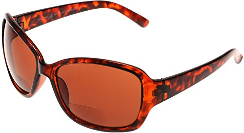 Women's BiFocal Sun Readers Fashion Sunglasses Snooki Poof Nation Style Sunreaders Solo SBR7010 in - Snooki Sunglasses