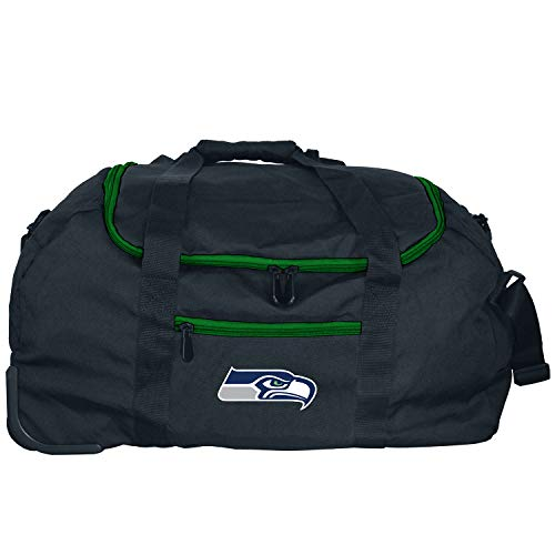 NFL Seattle Seahawks Mini Collapsible Duffel, 22-inches