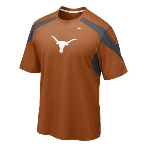 Texas Longhorns Nike Walk Thru Perf Jersey Shirt - Texas Nike Jerseys