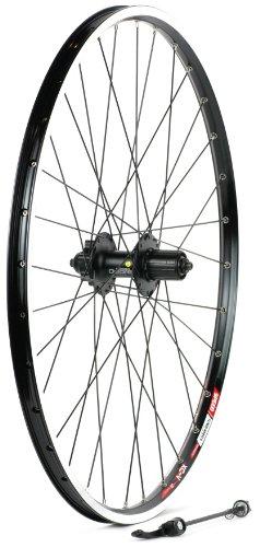 Hub 6 Bolt Disc - Sta-Tru Black Shimano Deore M525 6-Bolt Disc 8-9-10 Speed Cassette Hub Rear Wheel (26X1.5-Inch)