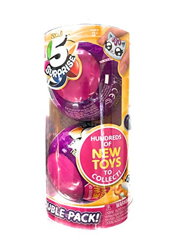 5 Surprise Toy, Pink, 2 Pack -