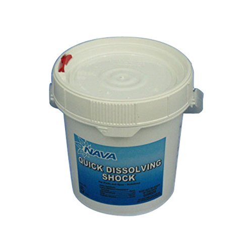 Nava Quick Dissolving Di-Chlor Shock - 5 lb Bucket (Chlor Pool Shock)