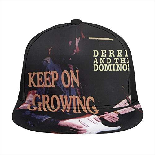 KarlMRush Derek and The Dominos Keep On Growing Unisex Outdoor Sports,Baseball Cap,Sun Hat,Truck Hat,dad Hat