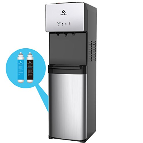 Avalon A5BOTTLELESS A5 Self Cleaning Bottleless Water Cooler Dispenser, Stainless Steel (Hot Water Steel Stainless Tank)