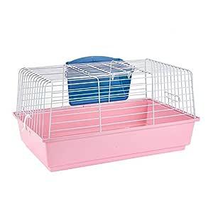 Pet Ting - Jaula de Conejo para Interiores (60 cm), Color Rosa ...
