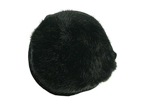 180s Women's Ear Warmers - Vail Faux Fur Black