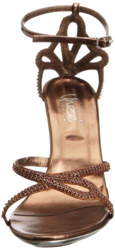 Unze Evening Sandals L18217W - Sandalias para mujer Marrón