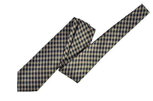 Tom Ford Green Check Silk Neck Tie by Tom Ford..