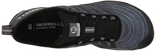 Merrell Men's Vapor Glove 2 Trail Running Shoe, Black/Castle Rock, 7 M US by Merrell (Image #8)