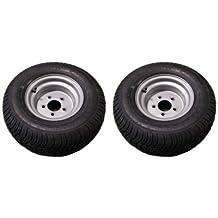 20.5 X 8-10 (205/65-10) Triton 07355 Class E Snowmobile/ATV/Pontoon Trailer Tires - Pair
